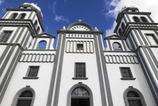 Church of Suyapa at Tegucigalpa, Honduras