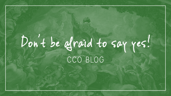 Don't be afraid to say yes!
